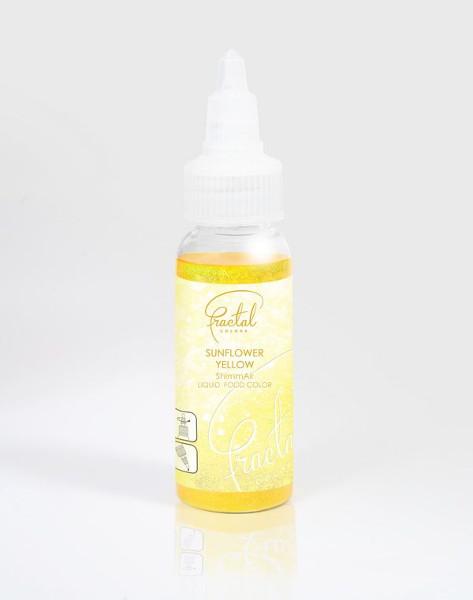 Selyemfényű folyékony ételfesték, napsugár sárga (33 g)