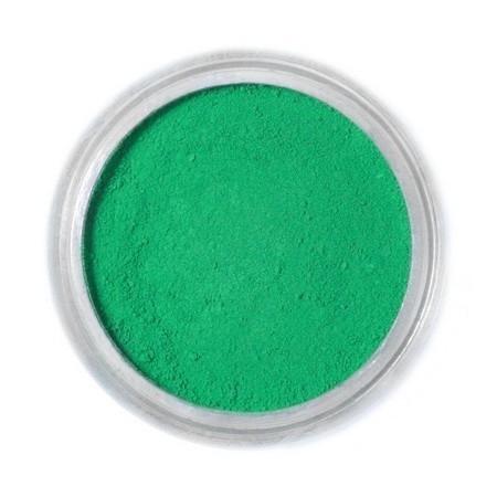 Borostyánzöld festőpor