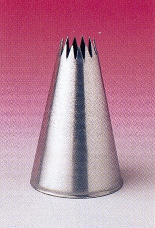 Csillagcső, sűrű fogazás (15 mm)