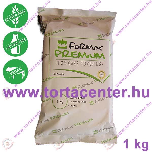 Formix tortaburkoló massza, PRÉMIUM (mandula ízű, fehér, 1 kg)