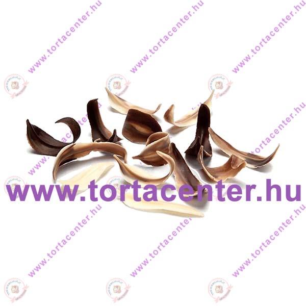 Fűzfalevél márványcsokoládé dísz (100 g)