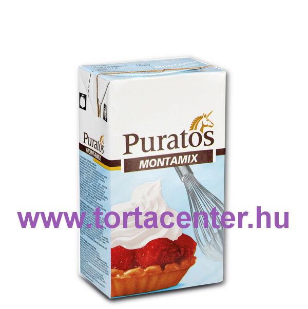 Montamix növényi tejszín (cukrász habalap, 1 l)