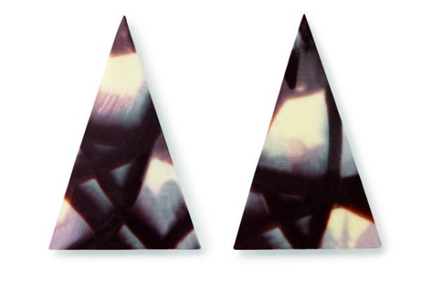 Jura háromszög csokoládé dísz (30 db)
