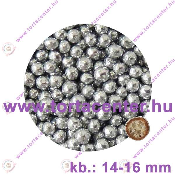 Óriás, roppanós, csokigolyó (ezüst metál, 70 g)