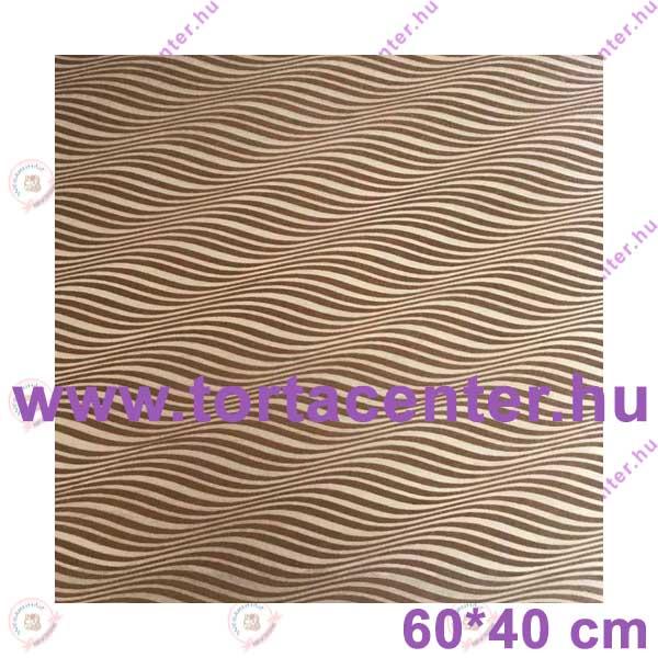 Mintás sütőpapír (zebra mintás)