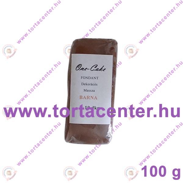 Tortabevonó massza, barna (One-Cake, 100 g)