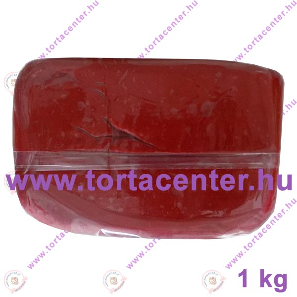 Tortabevonó massza, bordó (One-Cake, 1 kg)