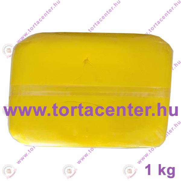 Tortabevonó massza, citromsárga (One-Cake, 1 kg)