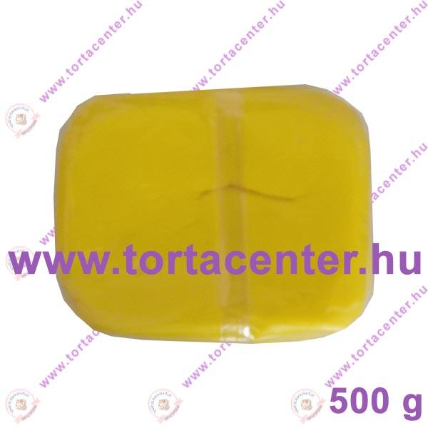 Tortabevonó massza, citromsárga (One-Cake, 500 g)