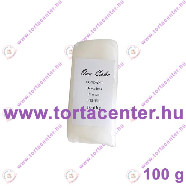 Tortabevonó massza, fehér (One-Cake, 100 g)