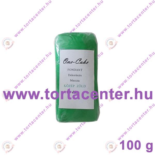 Tortabevonó massza, középzöld (One-Cake, 100 g)