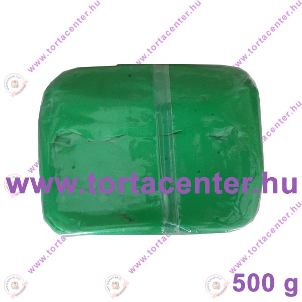 Tortabevonó massza, középzöld (One-Cake, 500 g)