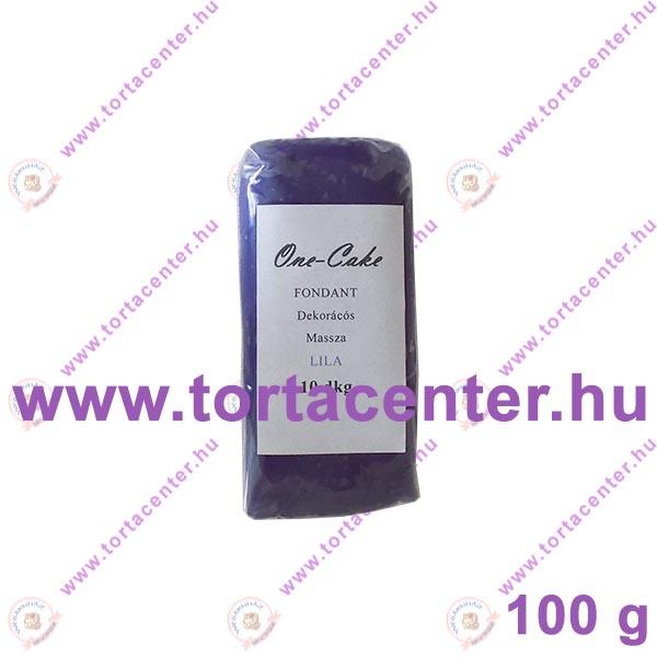 Tortabevonó massza, lila (One-Cake, 100 g)