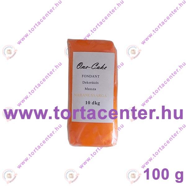 Tortabevonó massza, narancssárga (One-Cake, 100 g)
