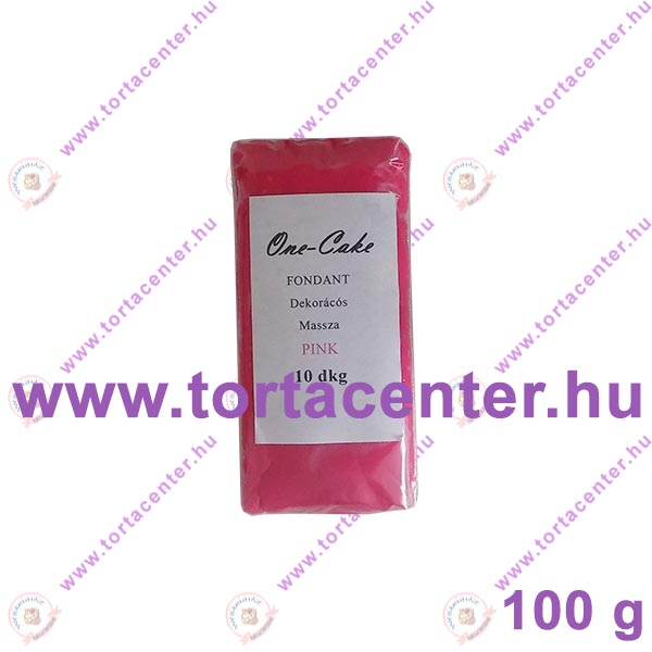 Tortabevonó massza, pink (One-Cake, 100 g)