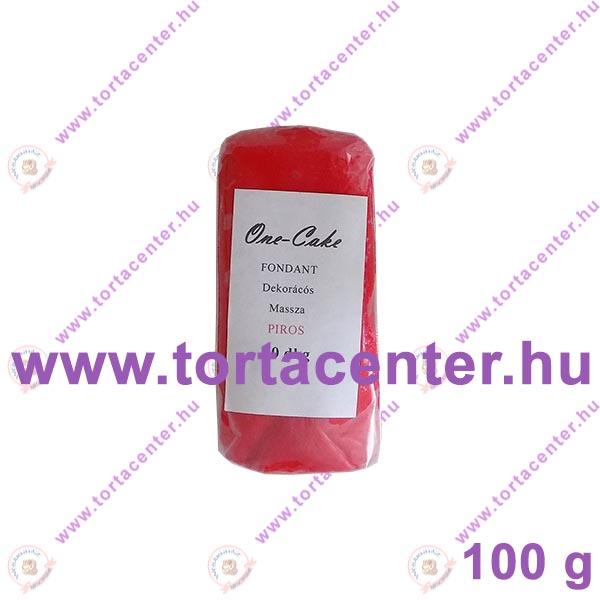 Tortabevonó massza, piros (One-Cake, 100 g)