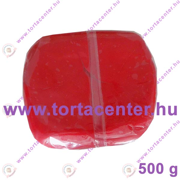 Tortabevonó massza, piros (One-Cake, 500 g)