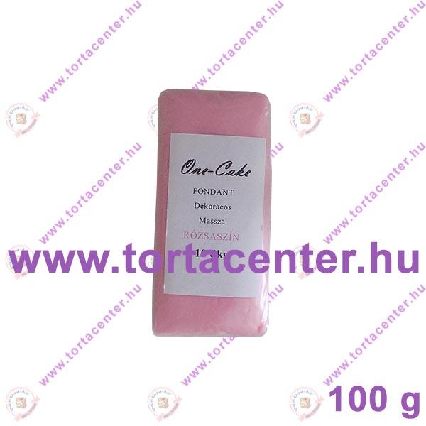 Tortabevonó massza, rózsaszín (One-Cake, 100 g)