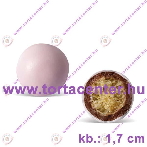 Óriás, roppanós, csokigolyó (rózsaszín, 70 g)
