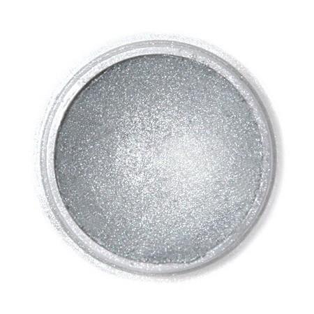 Selyempor, sötét metál ezüst