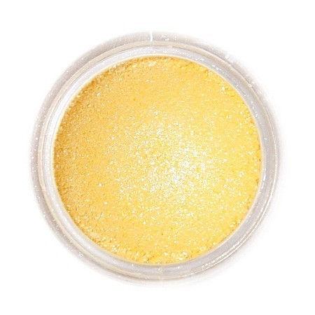Selyempor, szikrázó sárga