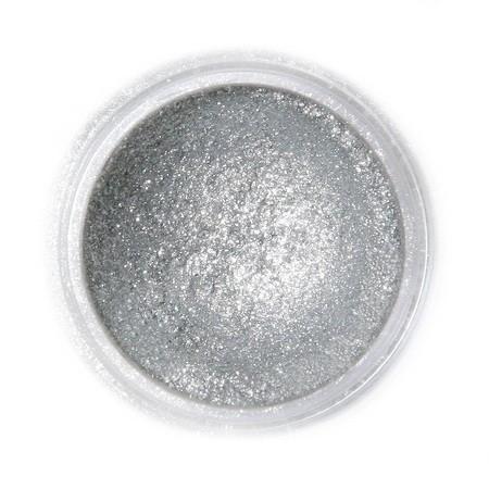 Selyempor, szikrázó sötét ezüst