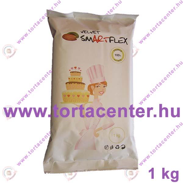 Smartflex Velvet (mandula ízű, fehér, 1 kg)