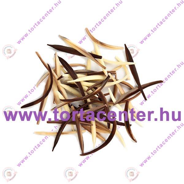 Szálas márványcsokoládé dísz (100 g)