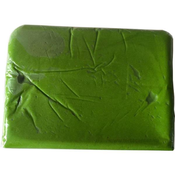 Tortabevonó massza, sötétzöld (Unidec, 1 kg)